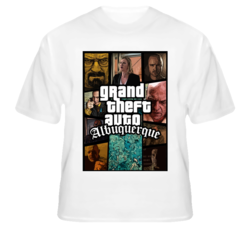 Grand Theft Auto Albuquerque New Mexico GTA Breaking Bad T Shirt