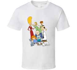 The Oblongs Retro TV Show Bob, Pickles, Beth, Biff, Chip, Milo T Shirt