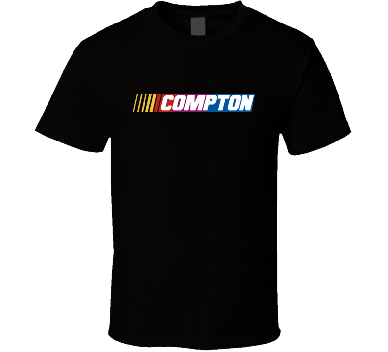 Compton Nascar Driver Custom Last Name Special T Shirt