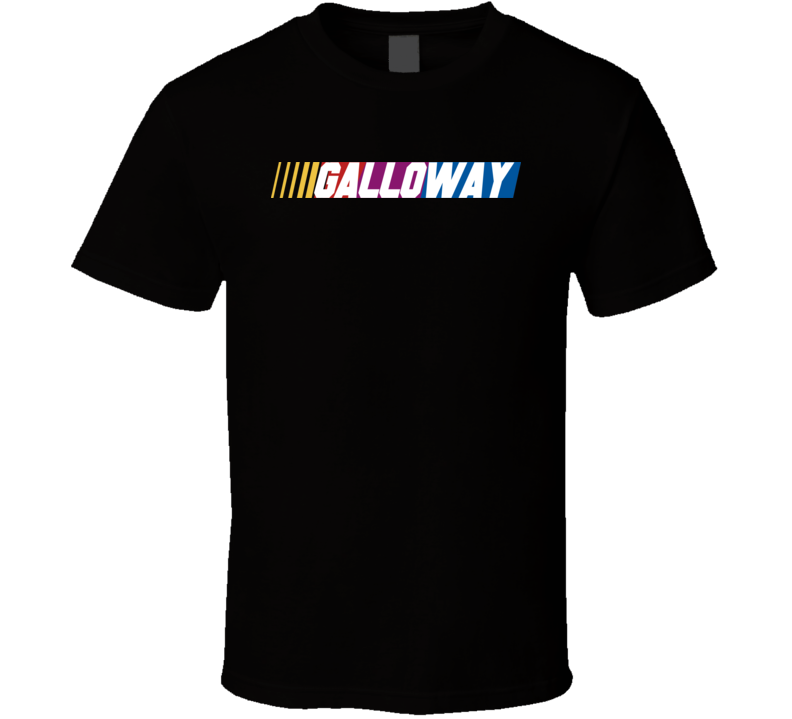 Galloway Nascar Driver Custom Last Name Special T Shirt
