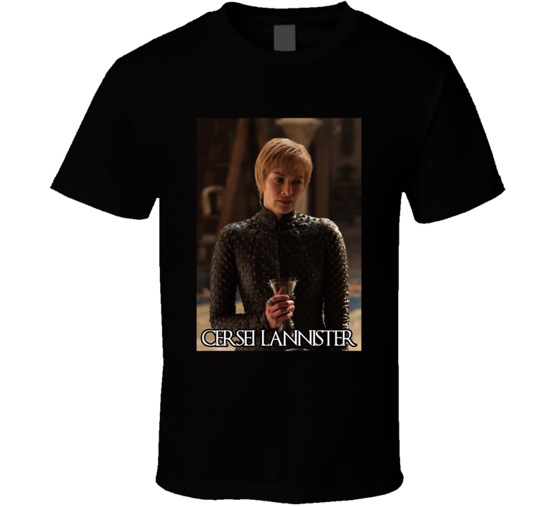 Cersei Lannister Game Of Thrones Character  T Shirt