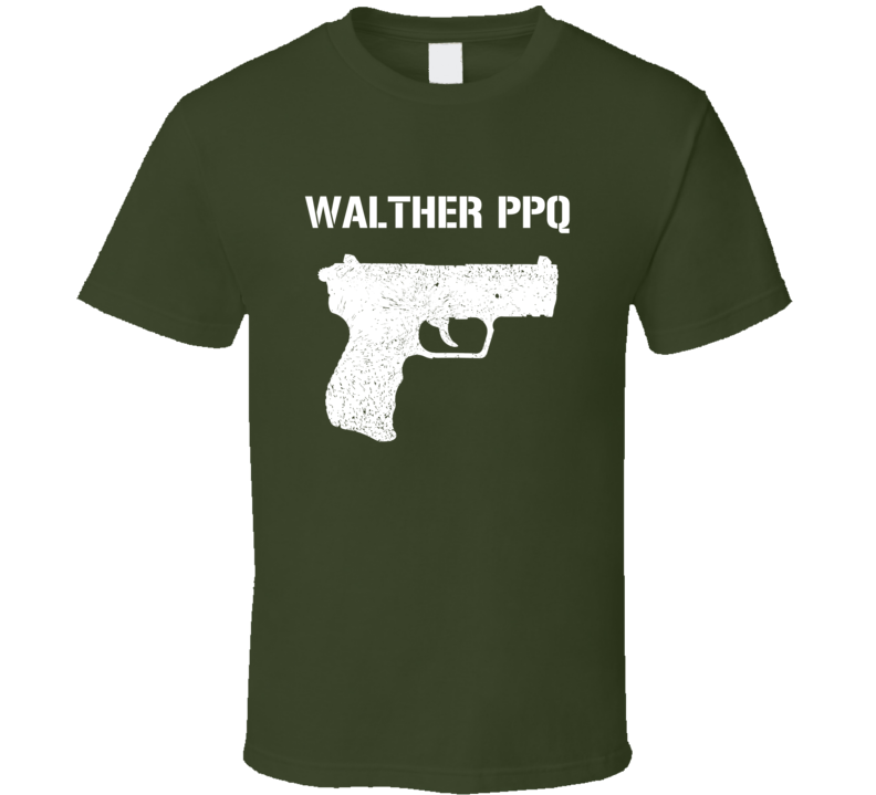 Walther Pk380 Pistol Military Distressed Revised T Shirt