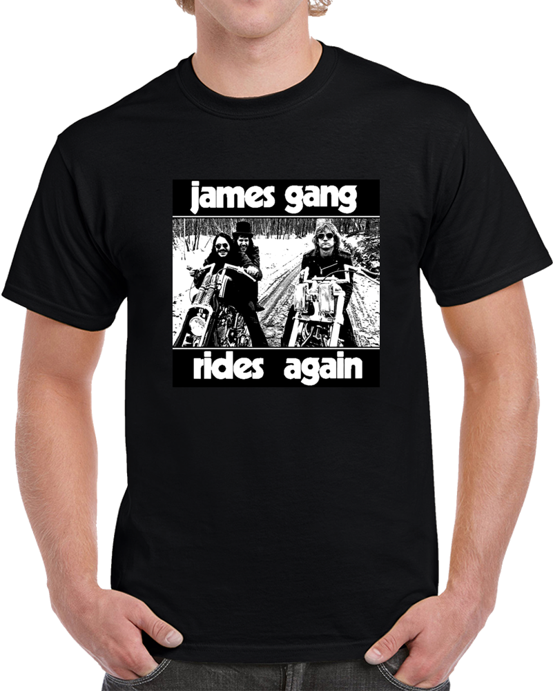 James Gang Rides Again Image T Shirt