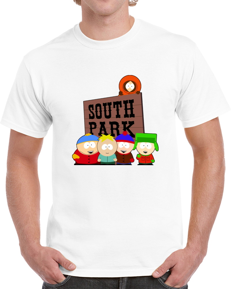 South Park Beginning Cast Sign Clever With Butters Tv T Shirt