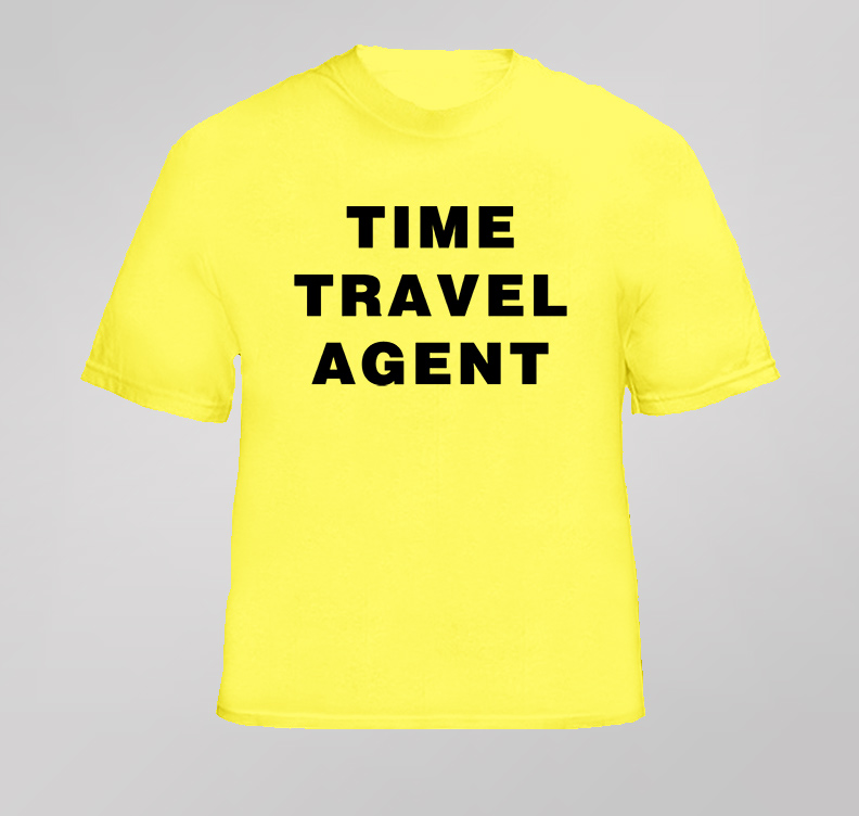 Frank 30 Rock Time Travel Agent T Shirt