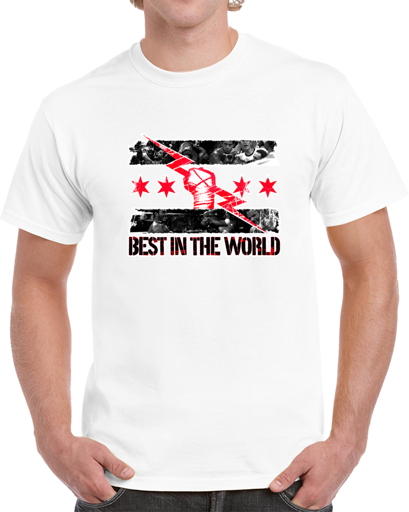 CM Punk Best In The World Wrestling T Shirt