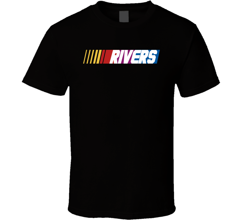 Rivers Nascar Driver Custom Last Name Special T Shirt