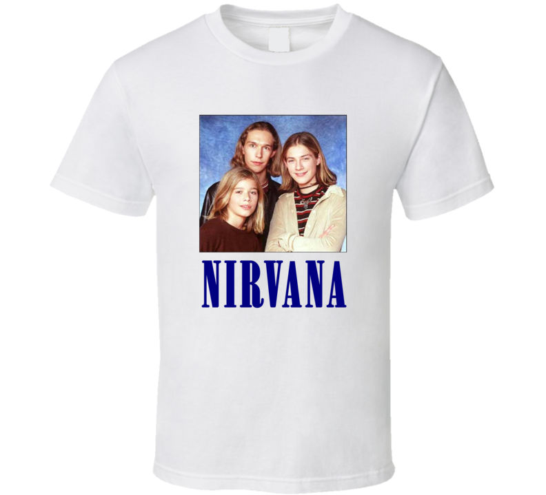 Hanson Brothers Nirvana Funny Parody Music Band T Shirt