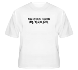 If You Get With Me You Will Be Cummingtonite Funny Element Joke T Shirt