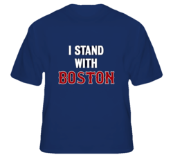 I Stand With Boston Strong Support United States T Shirt