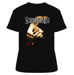 Schindler's List 90s Movie T Shirt