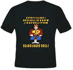 School House Rocks Educational Learning T Shirt